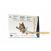 Стронгхолд (Stronghold) для кошек, 1 пипетка 0,75 мл (45 мг, 6%), Pfizer (Пфайзер), США