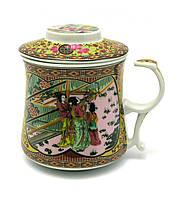 Чашка керамика заварочная Гейши
