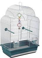 """Клетка  для птиц Природа """"Изабель- 1"""" хром"""