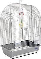 "Клетка для птиц Природа ""Арка"" хром"