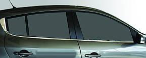 Окантовка стекол Renault Megane 3 (6 шт.)