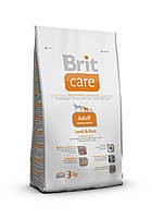 Brit Care Adult Medium Breed Lamb & Rice - сухой корм для собак средних пород (весом от 10 до 25 кг)