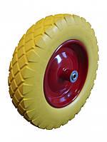 Колесо из пенополиуретана 4,00-8 ось 12 мм,20048012