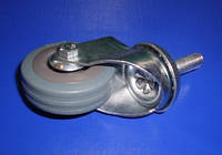 Колесо поворотное  на резьбовом соединении 50 мм,720050