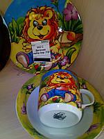 Набор детской посуды 3пр. 4305