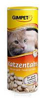 Витамины Gimpet Katzentabs для кошек с сыром маскарпоне и биотином, 710 шт/425 г