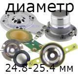 Диаметр катушки 24.8-25.5mm