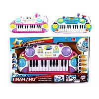 Синтезато-пианино Joy Toy(Джой Той) 7234, розовое