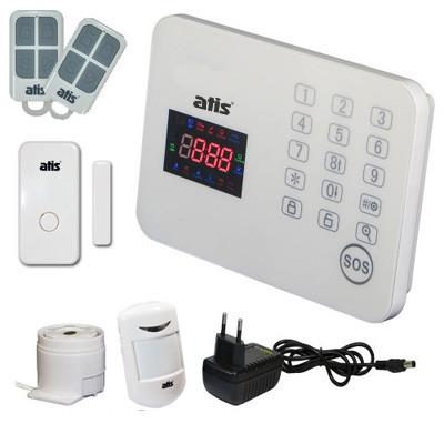 Комплект бездротової GSM сигналізації ATIS Kit-GSM120