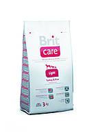 Brit Care Light Turkey 12 kg - сухой корм для взрослых собак с избыточным весом