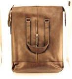 _Сумка для ноутбука 488-1 кожзам коричневая