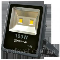 Светодиодный прожектор LED COB 100 вт Реалюкс