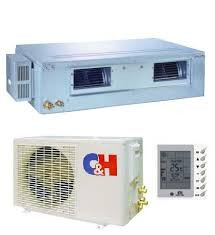 Канальный кондиционер Cooper Hunter CH-ID60NK4/CH-IU60NK4 Inverter