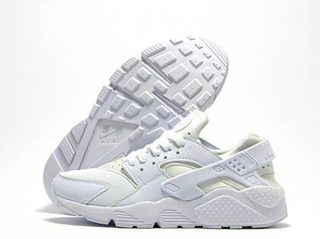 Кроссовки Nike Air Huarache White Белые женские купить цена в Киеве ... 508253a7227