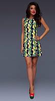 Платье женское лимоны в расцветках 10939, фото 1