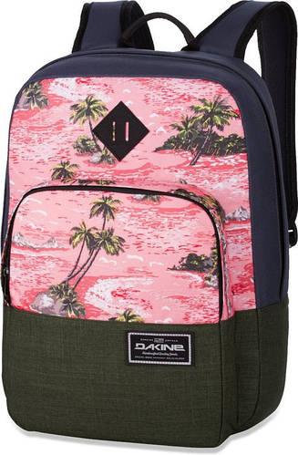"""Городской рюкзак классической формы """"Экзотика"""", разные цвета Dakine CAPITOL 23L aloha 610934842319"""