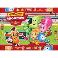 Игра малая настольная Фиксики Лаборатория Danko toys 01161