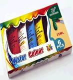 Краски акварельные 6цв. в тюбиках 3500