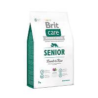 Brit Care Senior Lamb & Rice - сухой корм для пожилых собак всех пород с мясом ягненка