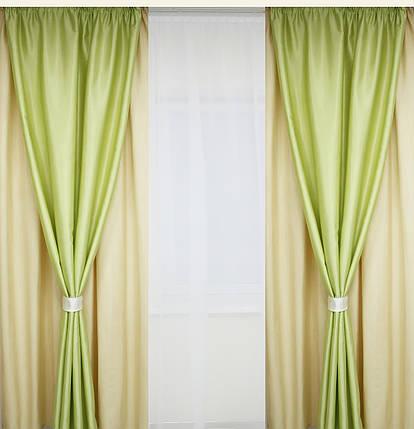 Шторы портьерные Шанзелизе Комби №1 (2 шторы), фото 2