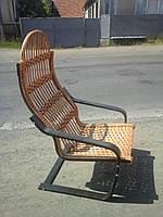 Кресло из лозы Пружинка