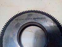 Долбяк дисковый М 1  z100 d20 град  P6М5 дел. диаметр100, фото 1