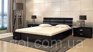 Ліжко дерев'яна полуторне Дали Люкс