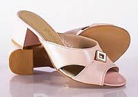 Женские сабо на низком каблуке, разные цвета