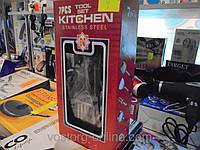 Столовые приборы Kitchen, набор столовых предметов Kitchen Stainless steel 7-PCS, столовые приборы