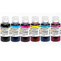 Комплект чернил ColorWay для Epson L1800, L800, L810, L850, 6 x 100 ml, EU800, светостойкие