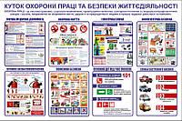 Стенд_002 Куток охорони праці та безпеки життєдіяльності