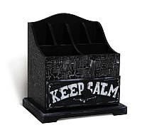 Мини-комод для хранения аксессуаров «Keep Calm»