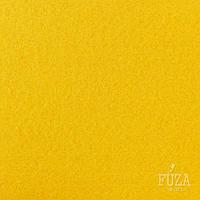 Фетр 100% полиэстер, жесткий, 3 мм, на метраж, 1 м.п., желтый