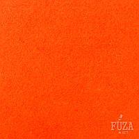 Фетр 100% полиэстер, жесткий, 3 мм, на метраж, 1 м.п., оранжевый яркий