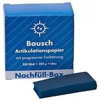 Бумага артикуляционная Bausch (Бауш) BK-01 200мк.