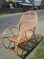 """Кресло-качалка плетеная из лозы """"Розкош"""""""