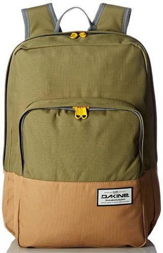 Универсальный городской рюкзак оливкового цвета Dakine CAPITOL 23L loden 610934903331