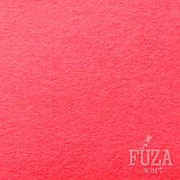 Фетр 100% полиэстер, жесткий, 3 мм, 20х30 см, розовый флуоресцентный