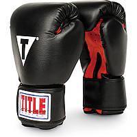 Боксерские тренировочные перчатки TITLE Classic Boxing Gloves