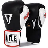 Перчатки для бокса гелевые Title Gel World Elastic Training Glov