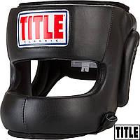 Боксерский шлем TITLE Classiс Face Protector Headgear