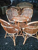 Набор плетеной мебели из лозы , фото 1