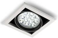 Светодиодный LED карданный светильник 12 Вт LDC952