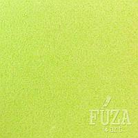Фетр 100% полиэстер, жесткий, 3 мм, 20х30 см, зеленый бледный