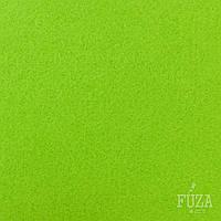 Фетр 100% полиэстер, жесткий, 3 мм, на метраж, 1 м.п., салатовый