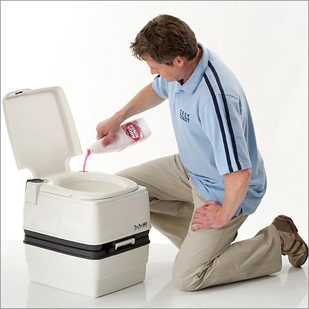 Жидкость, порошок для биотуалетов