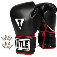 Перчатки для бокса с утяжелителями TITLE Power Weighted Super Ba