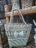 Детская сумочка из листья кукурудзы