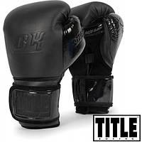 Универсальные боксерские перчатки TITLE BLACK Bag Gloves