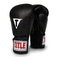 Боксерские перчатки TITLE Classic Leather Elastic Training Glove